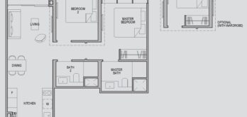 kopar-at-newton-2-rm-deluxe-floor-plan-type-2d1-singapore